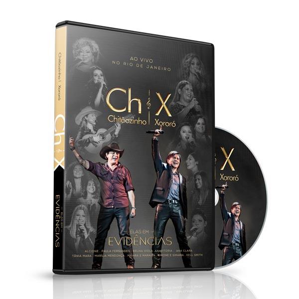 CD e DVD Elas em Evidências – Chitãozinho e Xororó