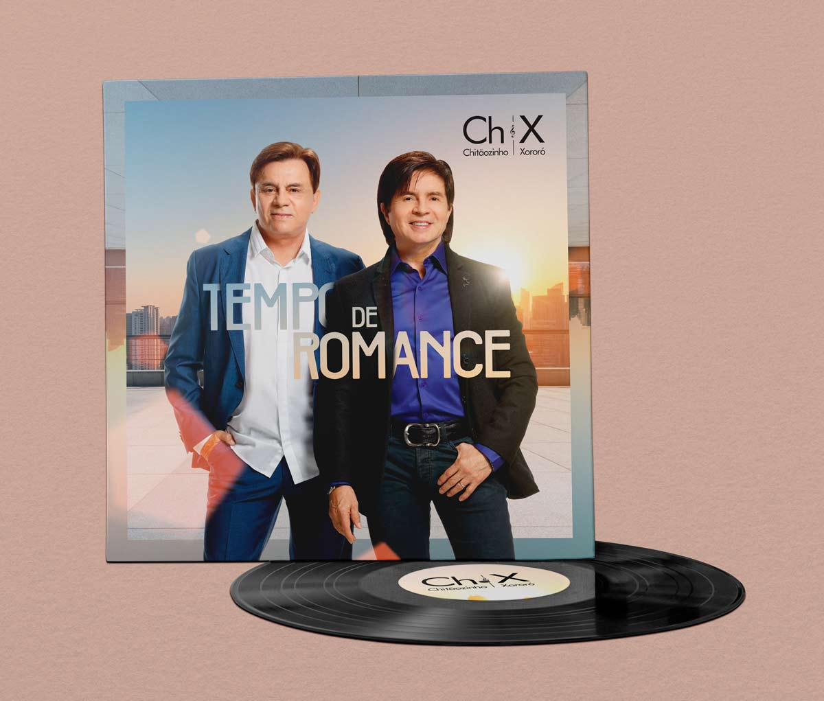 Capa Álbum Tempo de Romance