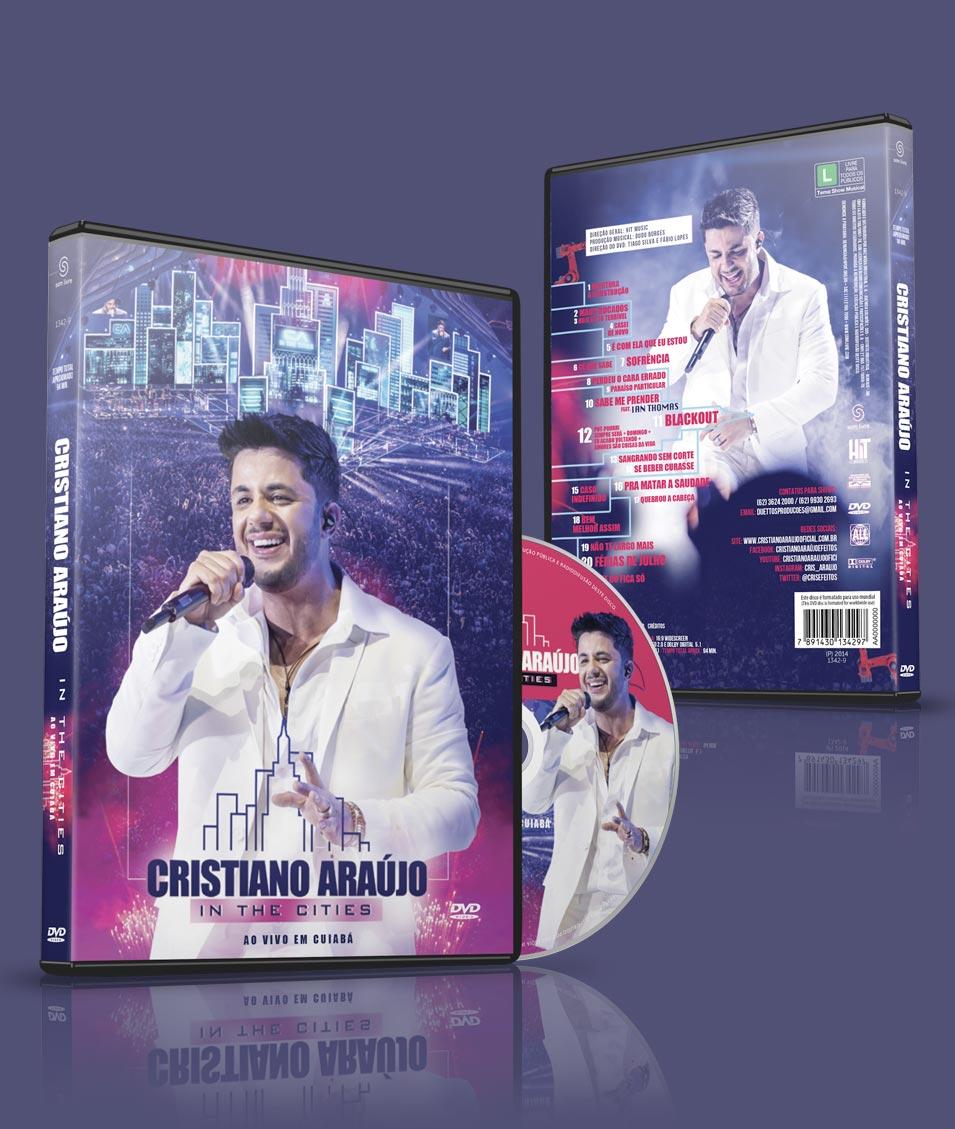 Cristiano Araújo In The Cities – DVD