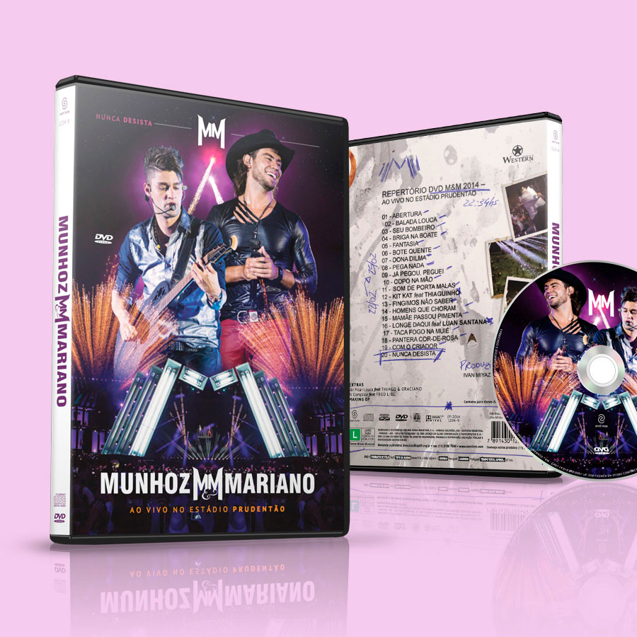 DVD Munhoz e Mariano Ao Vivo