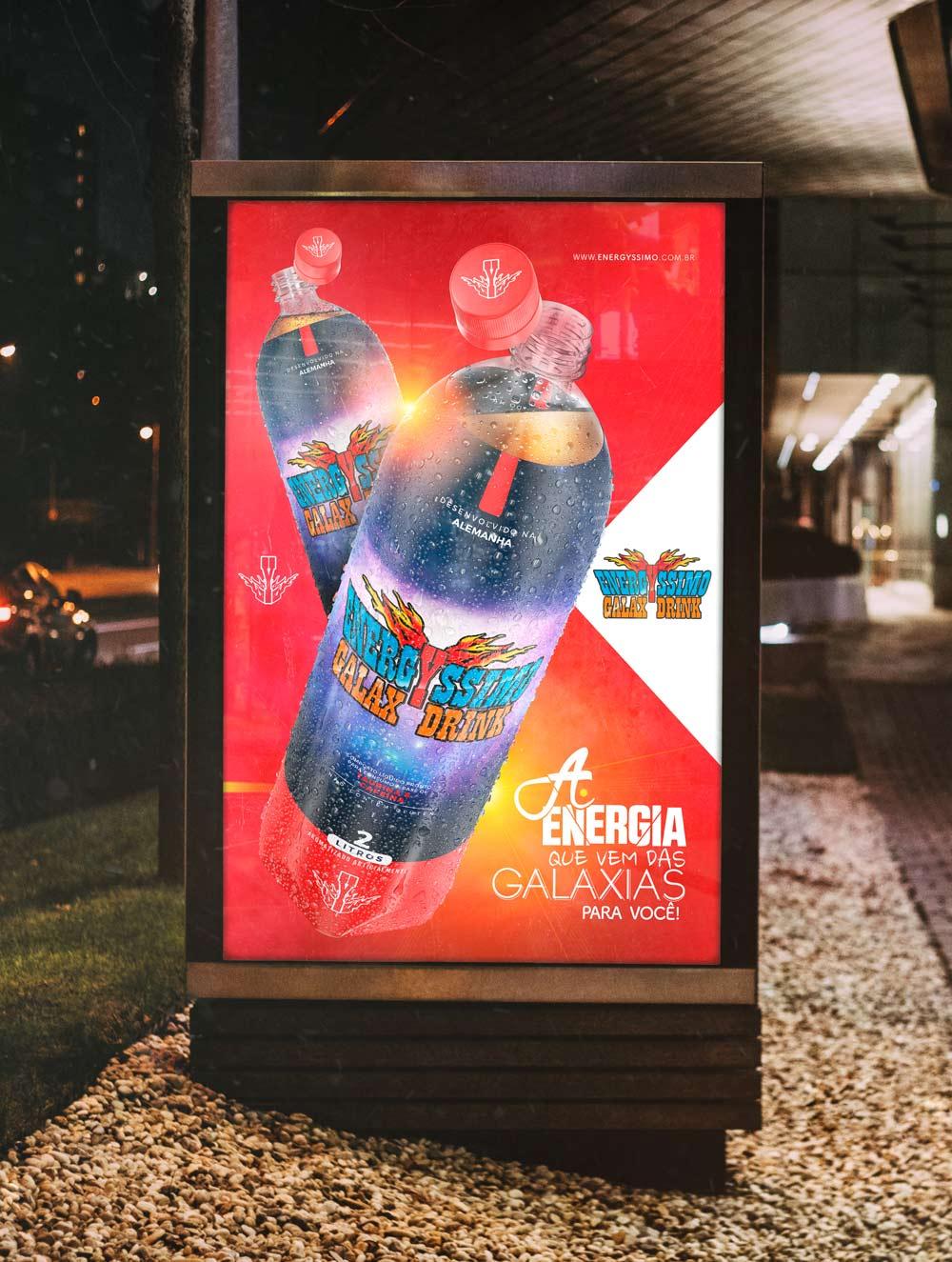 Identidade Visual Energyssimo Energy Drink