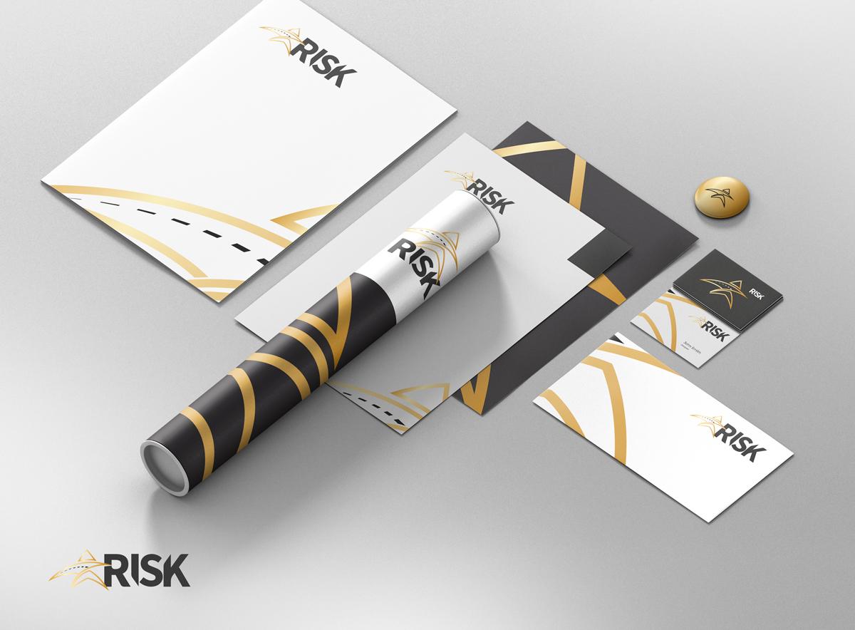 Identidade Visual Risk Serviços