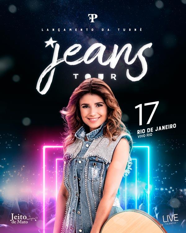 Jeans Tour Paula Fernandes