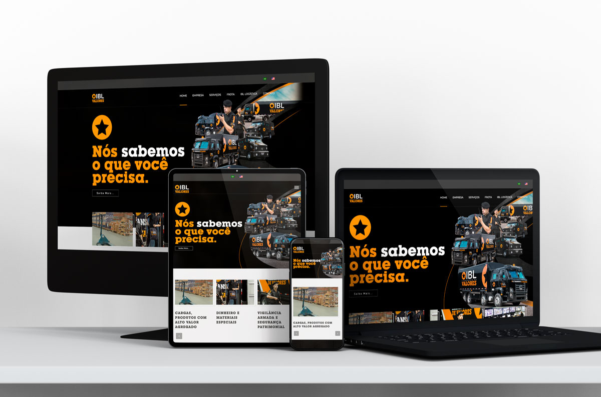 Website IBL Valores