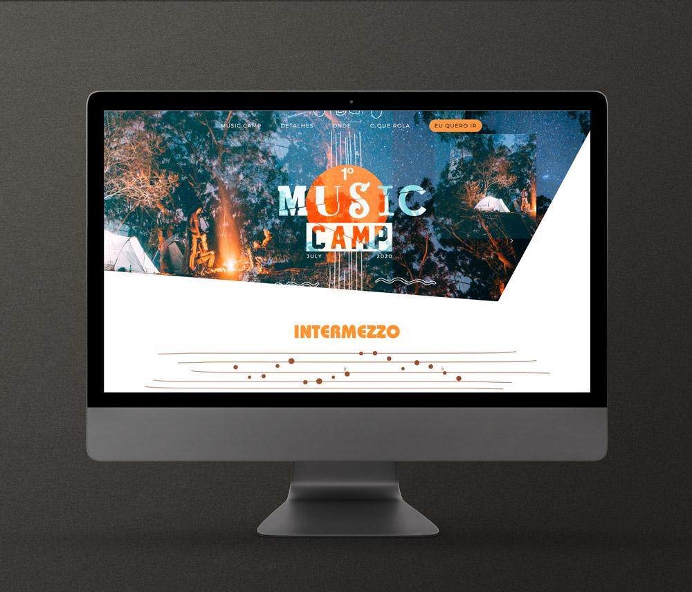 Website MusicCamp Intermezzo