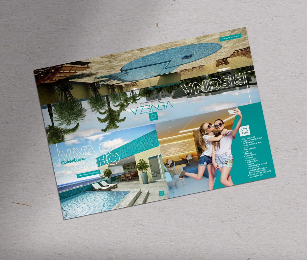 RTC Construtora Folder Residencial Veneza